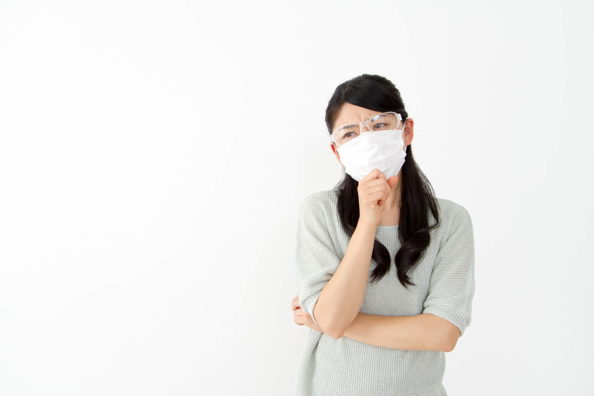 風邪や花粉症でマスクを外せない!バイト面接の時のマスクはあり?