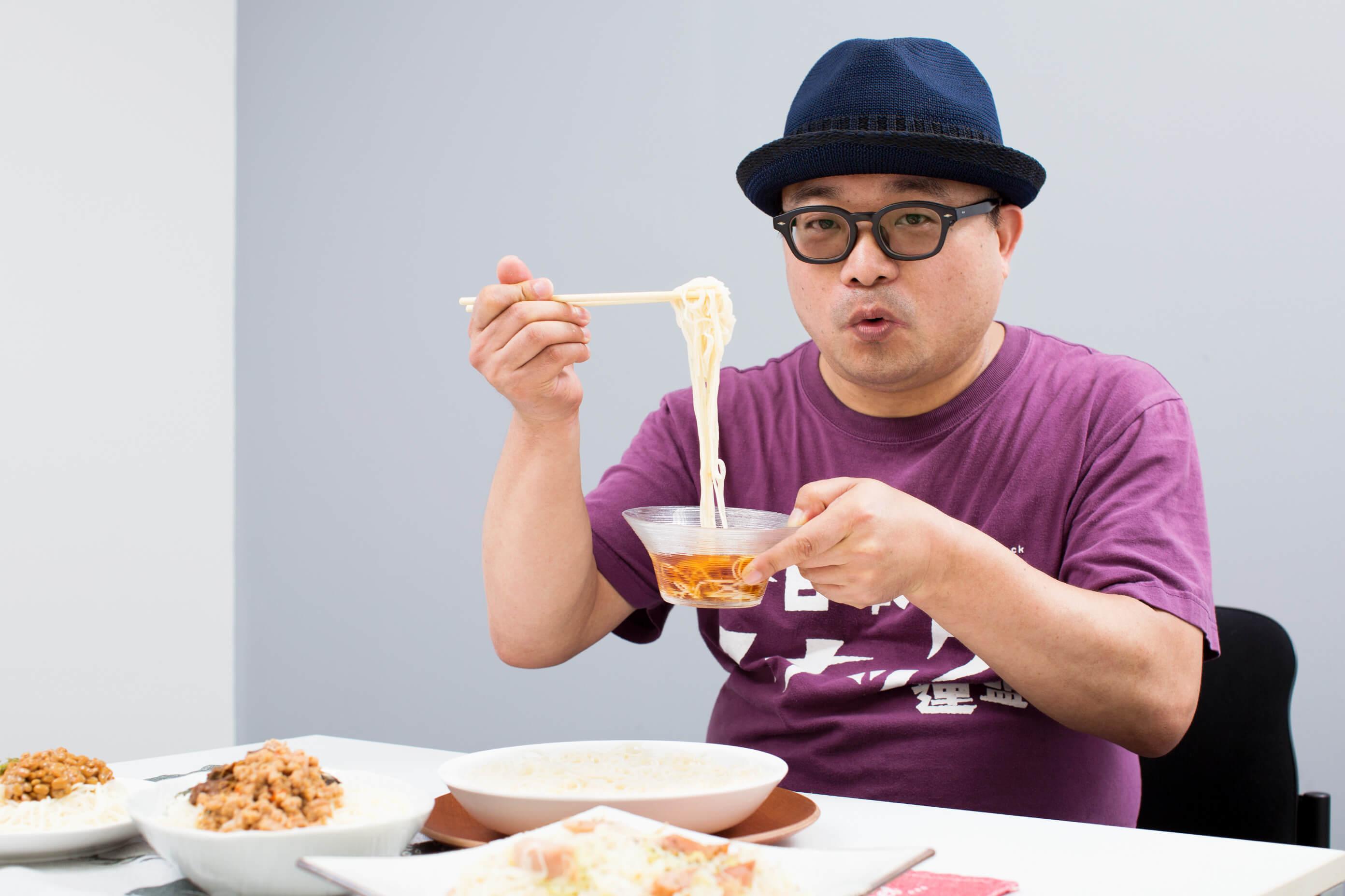 ソーメン二郎さん(そうめん研究家)に聞く! そうめんを10倍おいしくする食べ方